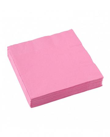 Pink napkins 20 pcs