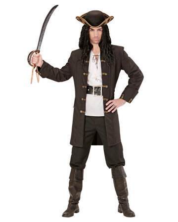 Piraten Kapitän Mantel
