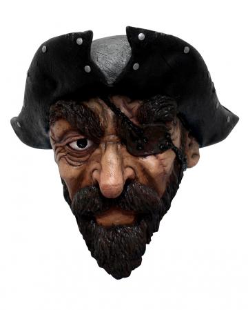 Piraten Maske mit Bart