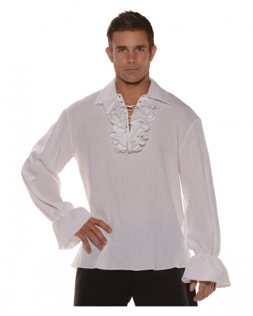 Pirate shirt with ruffles & laces