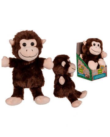 Plush Monkey With Voice Recording And Movement