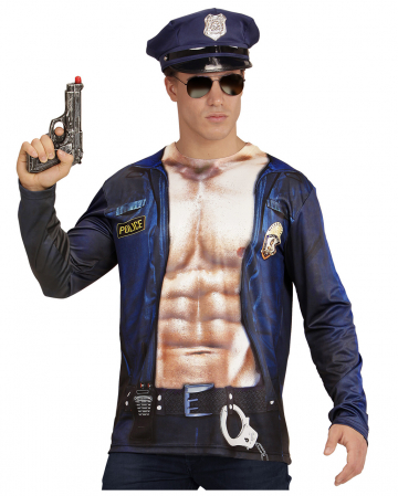 Police Officer Shirt Longsleeve