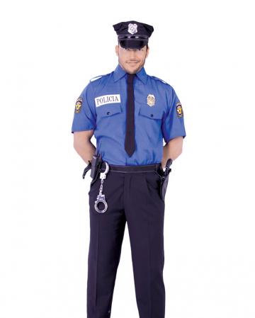 Police shirt blue