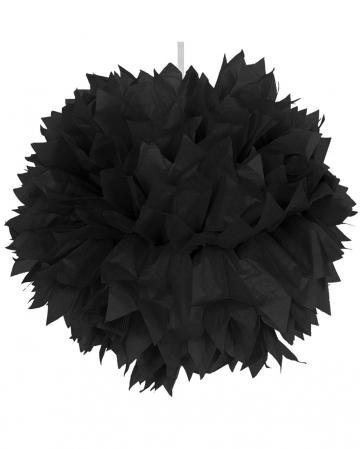 Pom-Pom Schwarz 30cm