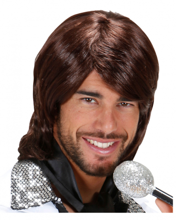 70er Popstar Perücke Benny