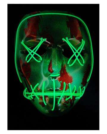 Psycho Killer LED Maske