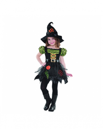Pumpkin Witch Kids Costume