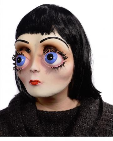 Gothic Lolita Doll Maske mit Haaren