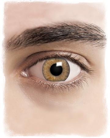 Realistische Braune Cosplay Kontaktlinsen