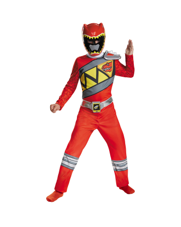Red Power Ranger Dino Charge Kinderkostüm