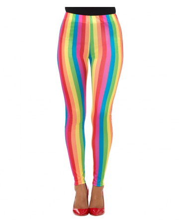 Regenbogen Leggings
