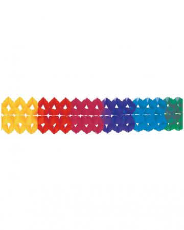 Rainbow garland 20x400cm