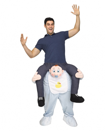 """Rider on Baby """"Carry Me"""" costume"""