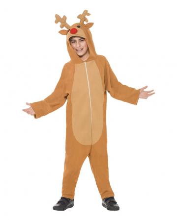 Rentier Overall Kinder Kostüm