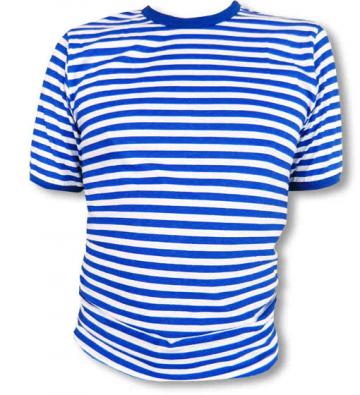 Ringelshirt blau/weiß Deluxe