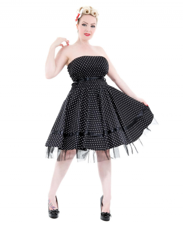Bandeau Dress Black