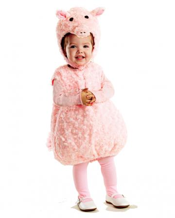 Pink piggy baby costume