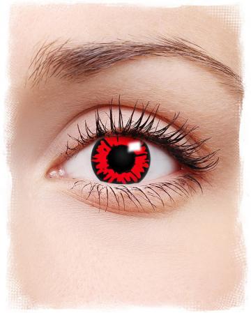 Kontaktlinsen Feuerauge