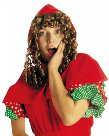 Little Red Riding Hood Wig With Hood