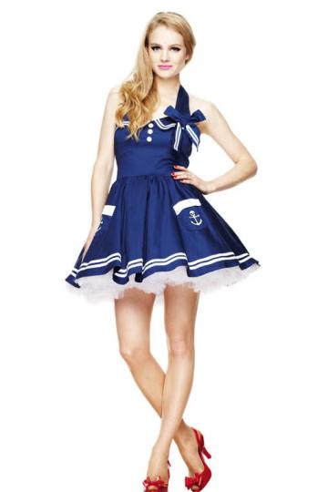 Sailor Mini Dress Blue