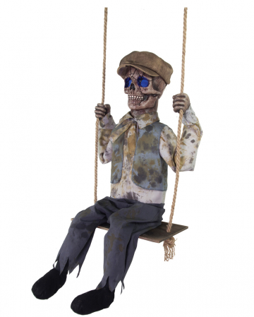Rocking Skeleton Boy Animatronic