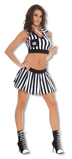Referee Girl Costume ML
