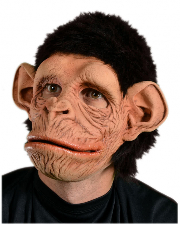 Monkey Mask With Fake Fur