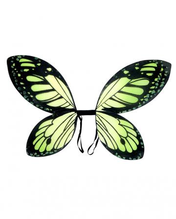 Butterfly Wings Black/green Child Size