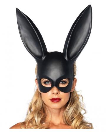 Black rabbit mask
