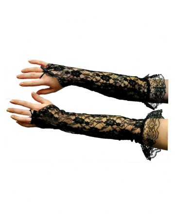 Lace Gloves Elbow-length