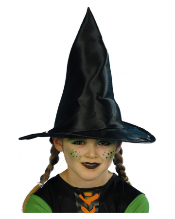 Black witch hat for children
