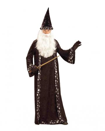 Schwarzer Magier Meister Erwachsenen Kostüm