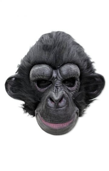 Black chimp mask