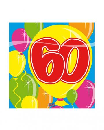 Servietten Ballon 60