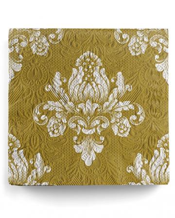 Servietten Luxury Barok Gold 15 St.