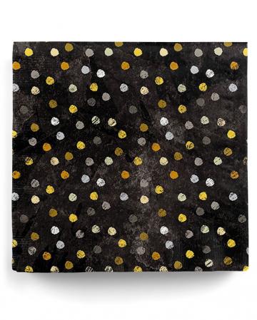 Napkins Swirling Dots 20 Pc.