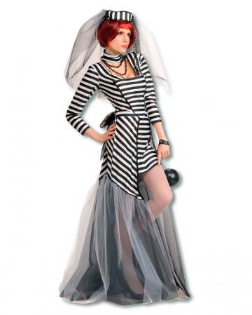 Sexy Knast Braut Kostüm