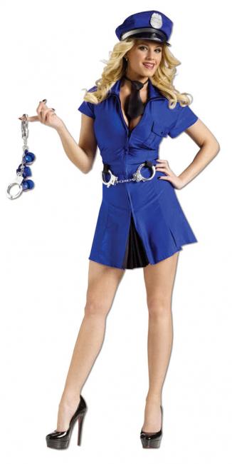 Sexy Polizei Lady Kostüm