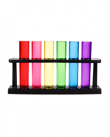 Shooter Reagenzglas Regenbogen