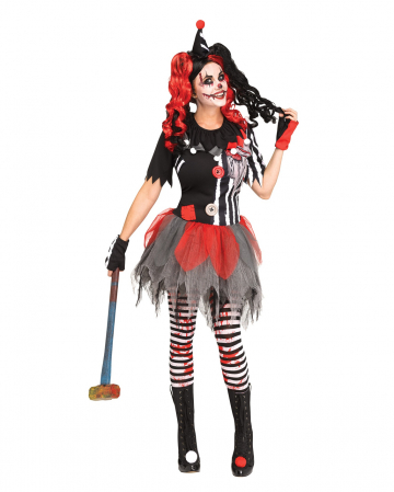 Sinister Circus Clown Costume For Adults