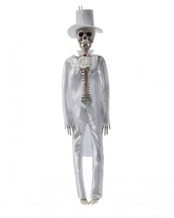 Skeleton Groom Hanging Figure 42cm