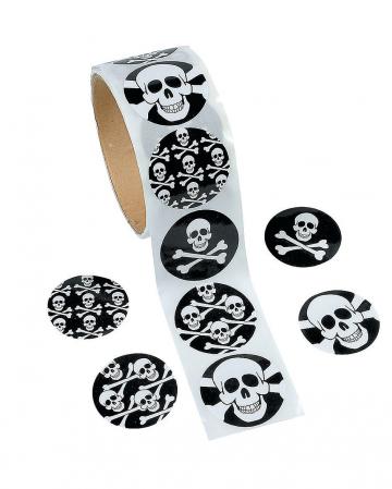 Skull & Bones Sticker 100 Pcs