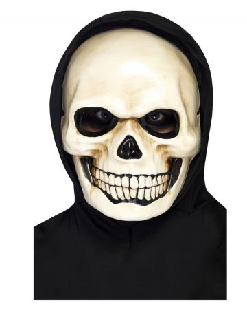 Skull mask made of latex