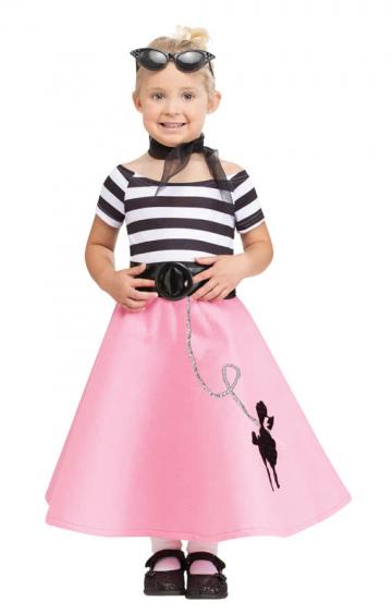 Soda Shop Sweetie Toddler Costume