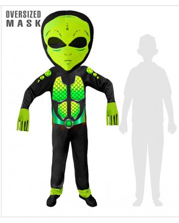 Space Alien Overall Kinderkostüm