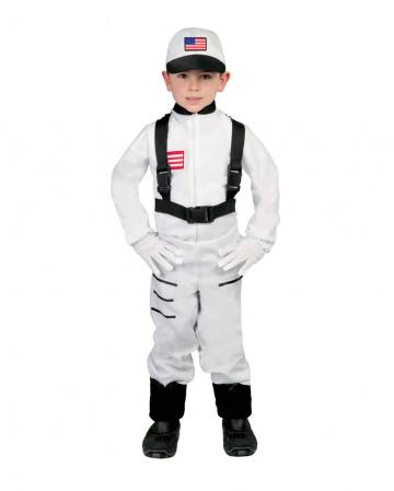Space Commander Astronaut Kinderkostüm