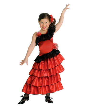 Spaniard Kids Costume