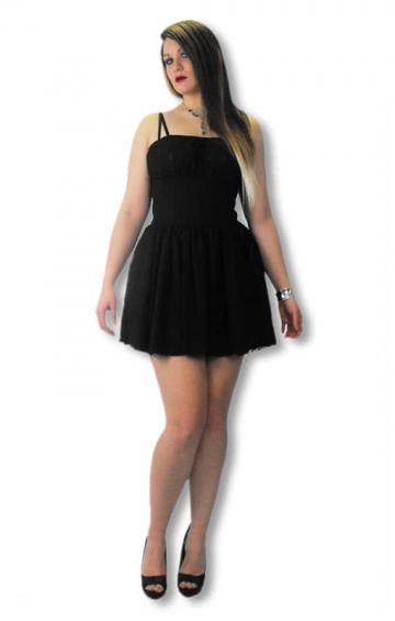 Gothic Lace Dress Xtra Large