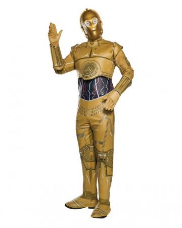 Star Wars Classic C-3PO Erwachsenen Kostüm Onesize