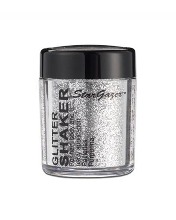 Stargazer Glitter Shaker Silber